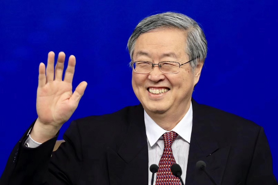 Zhou xiaochuan, a reporter asked ten key refining: do not accept the currency trading; The traditional paper may disappear